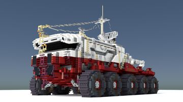 Arctic Exploration Vehicle Minecraft Map & Project
