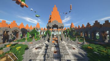 ✦ Faction Spawn ✦ Minecraft Map & Project