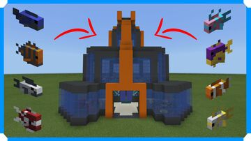 How To Build An Aquarium Minecraft Map & Project