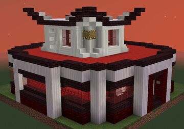 Netherwart Gazebo Minecraft Map & Project