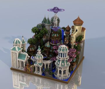 The Magical Fantasy Buildings Minecraft Map & Project