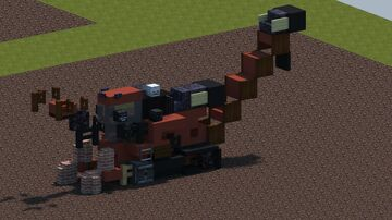 Case IH Austoft 8800 Sugar cane harvester [With Download] Minecraft Map & Project