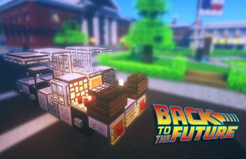 DeLorean - Back to the Future Minecraft Map & Project