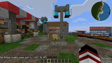THE CRAFTING DEAD_MAP_2020 Minecraft Map & Project