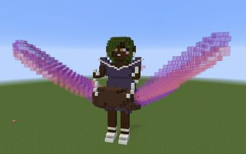 Fairy Riding A Butterfly- AmyOak Butterfly Contest Minecraft Map & Project