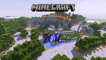 Walt Disney World 2016 Minecraft Map & Project