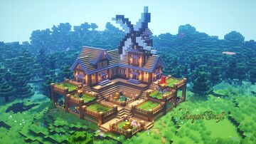 Farmhouse Minecraft Maps Planet Minecraft Community