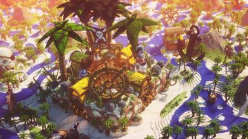 Tropical Pirate Spawn Minecraft Map & Project