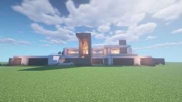 Modern Mansion Vlll Minecraft Map & Project