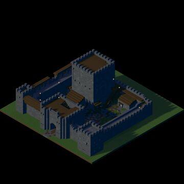 Custom Castle 3 Minecraft Map & Project