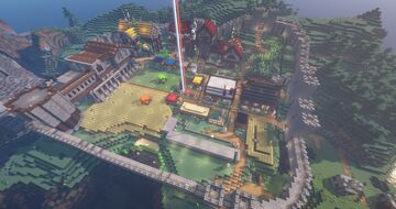 One Week, One Town: Our SMP Survival Town Minecraft Map & Project
