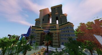 Luxury Resort Minecraft Map & Project