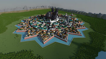 Medieval Cathedral City [Santisima Trinidad] Minecraft Map & Project