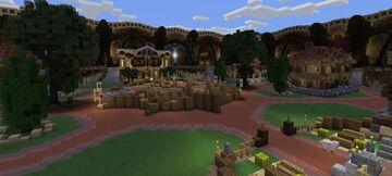 Map Hub/Lobby Minecraft Map & Project