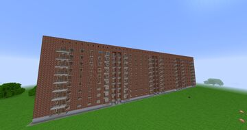 Typical residential building series 1-447S-48/Типовой жилой дом серии 1-447С-48 Minecraft Map & Project
