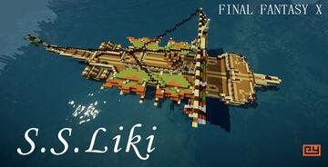 S.S. Liki (Final Fantasy X) #memoraffevent Minecraft Map & Project