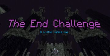 The End Challenge - Hardcore Enderdragon fight [1.15+] Minecraft Map & Project
