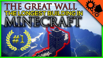 Great Wall of China Minecraft Map & Project