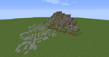 Mountain (first power tools build) Minecraft Map & Project