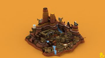 Western World Spawn Minecraft Map & Project