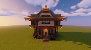 Hanok/Tempel House Minecraft Map & Project