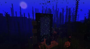 Underwater Nether Portal 1.16.1 Minecraft Map & Project