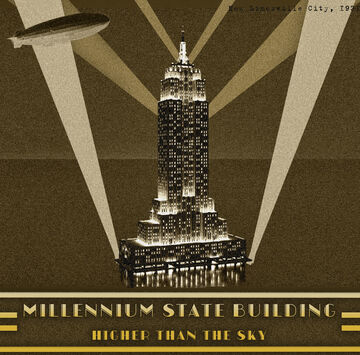 Millennium State Building | New Limesville City | NL | UCS Minecraft Map & Project
