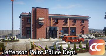 Jefferson Point Police Station | By: Sami3t | CCS Minecraft Map & Project