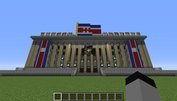 Korea Workers Party Headquarters Minecraft Map & Project