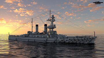 IJN Echigo 1:1 Scale (Fictional Coastal Defense ship) Minecraft Map & Project