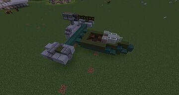 Naboo Flash Speeder Minecraft Map & Project