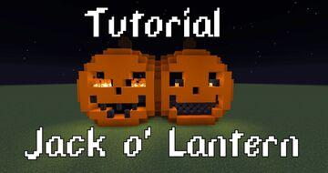 Jack o' Lantern Minecraft Map & Project