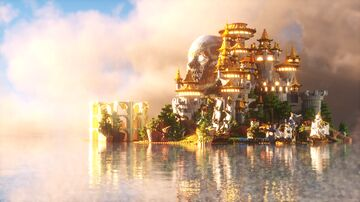 Via Water Castle   Free Download   By MarShadow Minecraft Map & Project
