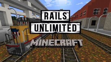 rails unlimited in minecraft Minecraft Map & Project