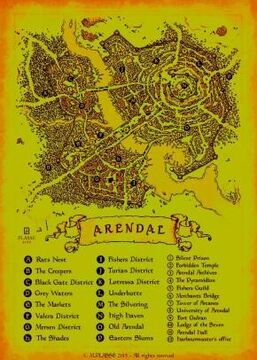 Arendal Fantasy City Minecraft Map & Project