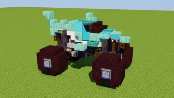 Megalodon Monster Truck Minecraft Map & Project