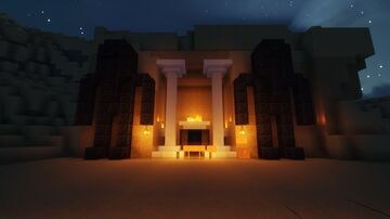 Egyptian mysteries! (Work in progress!!) All map testers will be able to input on the map! Minecraft Map & Project