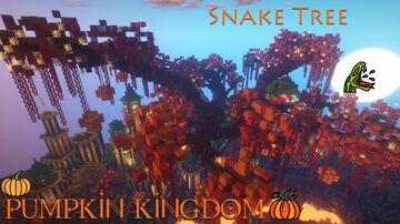 Snake Tree 🐍 Pumpkin Kingdom 🎃 Minecraft Map & Project