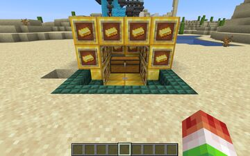 Infinite Gold Source Minecraft Map & Project