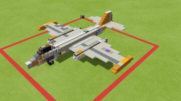 Martin B-57 Canberra Minecraft Map & Project