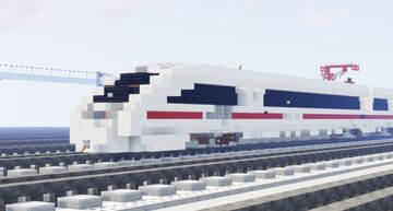 BR 415 ICE T // 1.5:1 scale Minecraft Map & Project