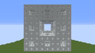 The Menger Sponge Project Minecraft Map & Project