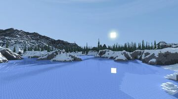 Snow Landscape Minecraft Map & Project