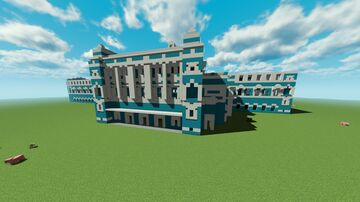 St. Pterburg Mariinsky Theater. Minecraft Map & Project