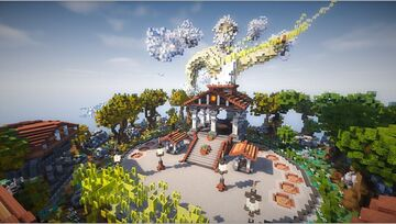 Spawn Skyblock - Theme Zeus Minecraft Map & Project