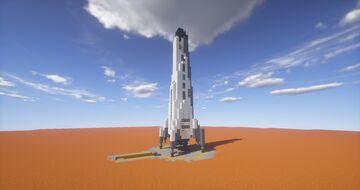 Mars Reusable Lander Minecraft Map & Project