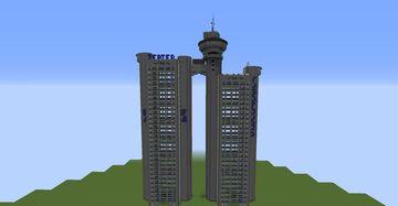 Genex Tower Minecraft Map & Project