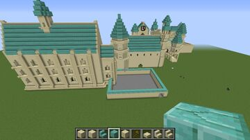 HOGWARTZ CASTLE (Unfinished Project) Minecraft Map & Project