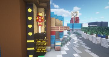Iron Man Experience Ride Minecraft Map & Project