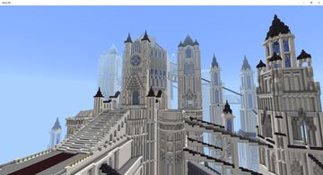 Dark Souls 1 Anor Londo and the Duke's Archives Minecraft Map & Project